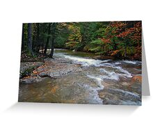 October in New Hampshire Greeting Card