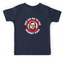Just Say No Granny State Kids Tee