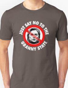 Just Say No Granny State T-Shirt