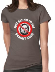Just Say No Granny State Womens Fitted T-Shirt
