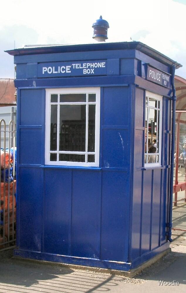 Tardis Police Box by Woodie