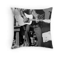 "Bill ""howl -n- madd"" Perry Throw Pillow"