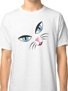 Kitty Face Classic T-Shirt