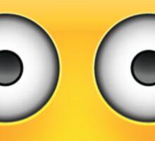 Embarrassed Emoji Sticker