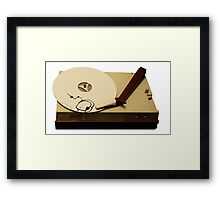 gypsy cloud vinyl Framed Print