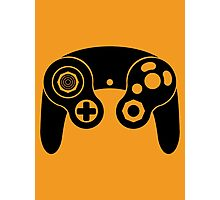 Nintendo GameCube Black Photographic Print