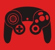 Nintendo GameCube Black Kids Tee