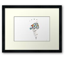 Masked Woman II Framed Print