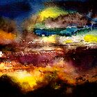 Abstract...Midnight on Egdon Heath by ©Janis Zroback