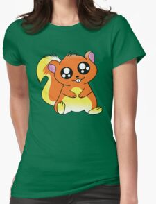 Squirrel Chan Womens Fitted T-Shirt