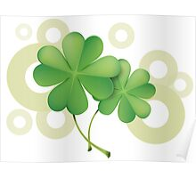 Saint Patrick's Day - Clovers Poster