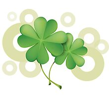 Saint Patrick's Day - Clovers Photographic Print