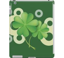 Saint Patrick's Day - Clovers iPad Case/Skin
