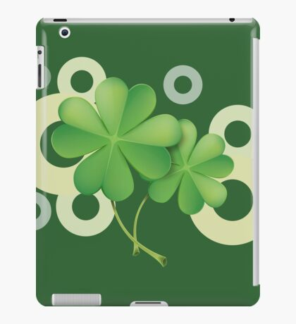 Saint Patrick's Day - Clovers iPad Case/Skin