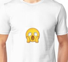 Shocked Emoji Unisex T-Shirt