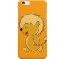 Lion Baby iPhone Case/Skin