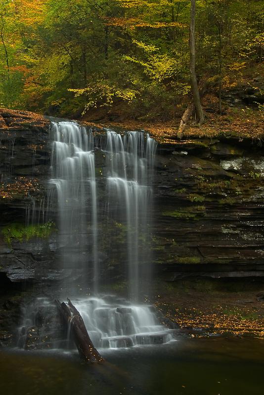 Harrison Wright Falls II by Michael  Dreese