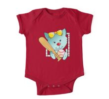 Let's play Baseball One Piece - Short Sleeve