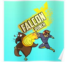 FALCON PUNCH! Poster