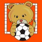 Soccer Bear by Rainy