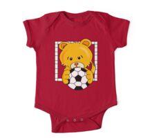 Soccer Bear One Piece - Short Sleeve