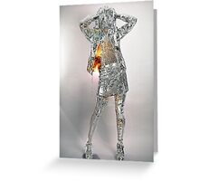 Ice Girl Greeting Card