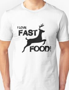 I Love Fast Food T-Shirt