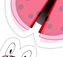 Lady Bugs Sticker