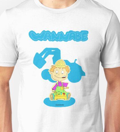 wannabe builder Unisex T-Shirt