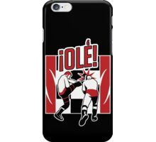 Olé! Sami Zayn Helluva Kick iPhone Case/Skin