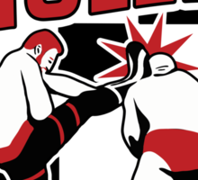 Olé! Sami Zayn Helluva Kick Sticker
