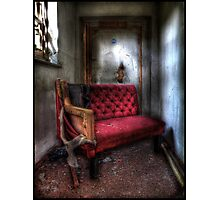 Even the wicked must rest... Photographic Print