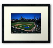 Wrigley Field 01 Framed Print