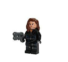LEGO Black Widow by jenni460