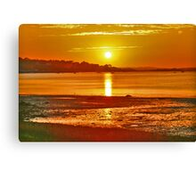 Sunset Cove Canvas Print