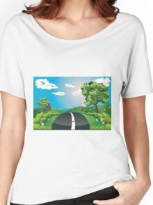 Way Through Nature Women's Relaxed Fit T-Shirt