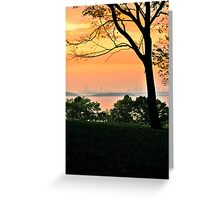 World's End Greeting Card