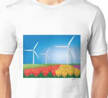 Wind turbine 2 Unisex T-Shirt