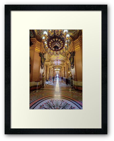 Opera House, Paris 3 by John Velocci