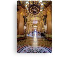 Opera House, Paris 3 Canvas Print