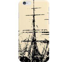 Sailing Ship Vintage iPhone Case/Skin