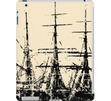 Sailing Ship Vintage iPad Case/Skin