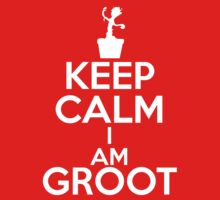 Keep Calm I am Groot by heliconista