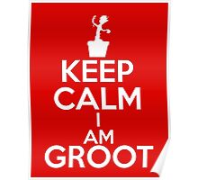 Keep Calm I am Groot Poster