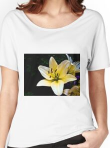 White Lily in the garden 2 Women's Relaxed Fit T-Shirt