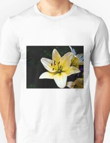 White Lily in the garden 2 T-Shirt