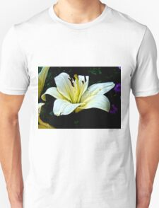 White Lily in the garden 3 T-Shirt