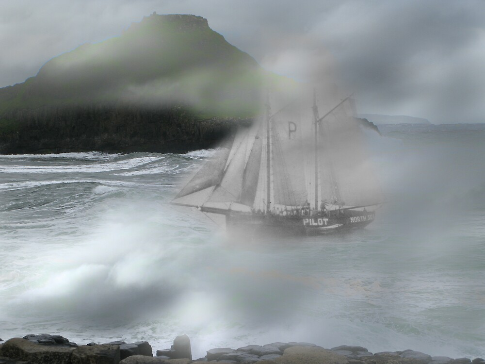 Ghost Ship by Mike Paget