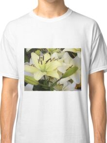 White Lily in the garden 5 Classic T-Shirt