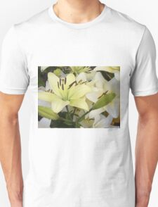 White Lily in the garden 5 T-Shirt